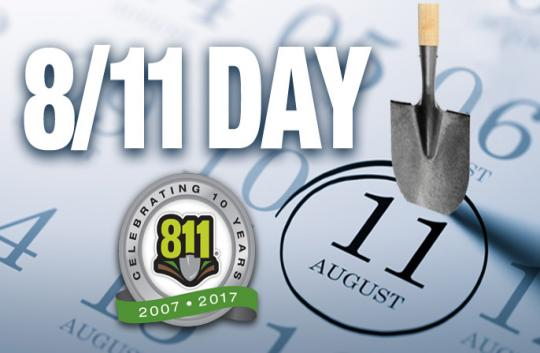 Call 811 Before you dig!!